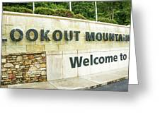 Lookout Mountain Greeting Card