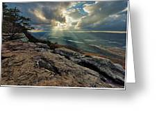 Lookout Mountain Sunset Greeting Card