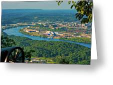 Lookout Mountain Vantage Greeting Card