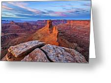 Lookout Point Sunrise Greeting Card