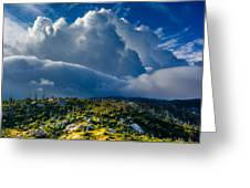 Looming Storm Clouds Greeting Card