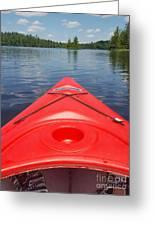 Loon Lake Reverie Greeting Card