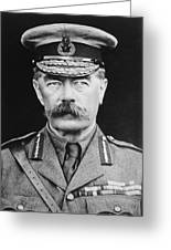 Lord Herbert Kitchener Greeting Card