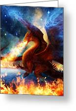 Lord Of The Celestial Dragons Greeting Card