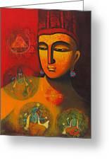 Lord Vishnu Greeting Card