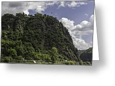 Loreley Rock 10 Greeting Card