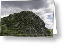 Loreley Rock 12 Greeting Card