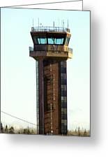 Loring Air Base Tower Greeting Card