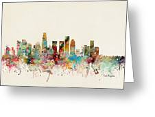 Los Angeles California Greeting Card