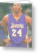 Los Angeles Lakers Kobe Bryant 2 Greeting Card