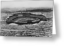 Los Angeles: Stadium, 1962 Greeting Card