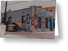 Los Angeles Urban Art Greeting Card