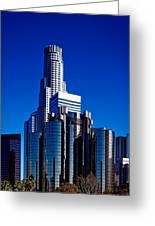 Los Angeles' Westin Bonaventure Hotel Greeting Card