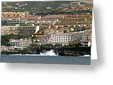 Los Gigantes From The Sea Greeting Card