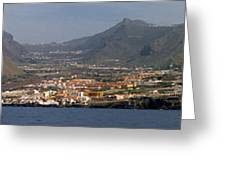 Los Gigantes Panorama 1 Greeting Card