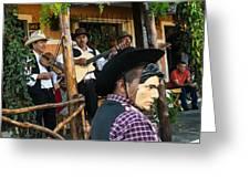 Los Historiantes De Apaneca 5 Greeting Card