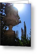 Los Jardines De Aranjuez Greeting Card