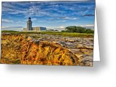 Los Morillos Lighthouse - Los Morillos - Cabo Rojo - Puerto Rico Greeting Card by Photography  By Sai