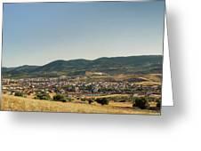 Los Navalucillos Panorama Greeting Card