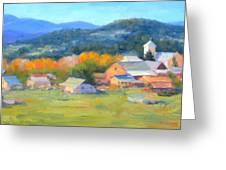Los Ojos Autumn Greeting Card