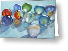 Lose Your Marbles 2 Greeting Card