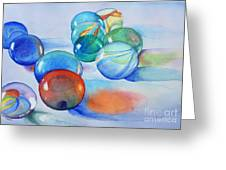 Lose Your Marbles Greeting Card