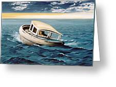 Lost At Sea Greeting Card