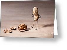 Lost Brains 01 Greeting Card