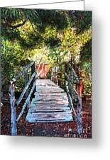 Lost Bridge Greeting Card