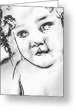 Lost Child Greeting Card