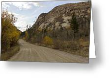 Lost Creek Road Greeting Card