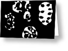 Lost Faces Greeting Card