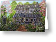 Lost House Greeting Card