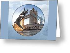 Lost In A Daydream - Floating On The Thames Greeting Card