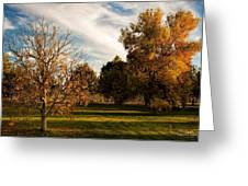 Lost In Autumn Greeting Card