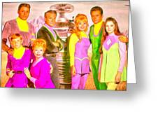 Lost In Space Team - Pa Greeting Card