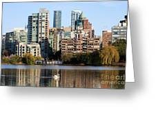 Lost Lagoon Vancouver  Greeting Card