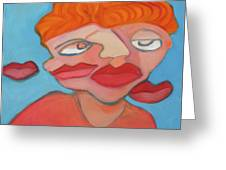 Lost Lips Greeting Card