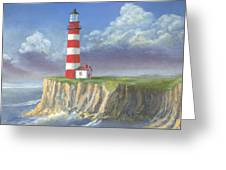 Lost Point Light Greeting Card