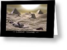Lost Time Greeting Card by Mike McGlothlen