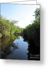 Lost Waterway Greeting Card