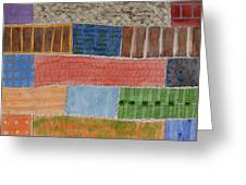 Several Acres Of Land Greeting Card