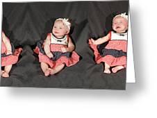 Lots Of Babies Greeting Card