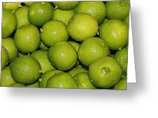 Lots Of Limes Greeting Card