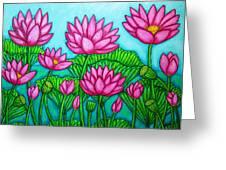 Lotus Bliss II Greeting Card