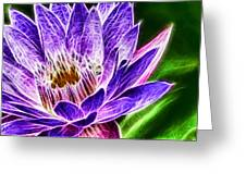 Lotus Close-up Greeting Card