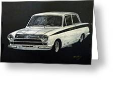 Lotus Cortina Greeting Card