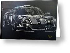 Lotus Exige Gt3 Greeting Card