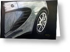 Lotus Exige Rear Side Greeting Card