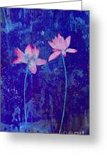 Lotus I Greeting Card